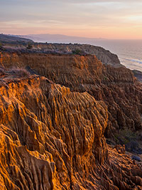 william lawson razor point torrey pines state reserve sunset
